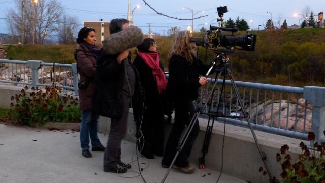 Au Saguenay avec Nadia © Germain Bonneau 2011 P1030969