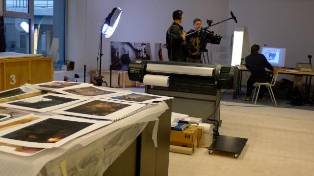 Tournage atelier de Geert Van Kesteren © Helen Doyle P1040112
